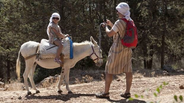 A biblical reenactment park in the village of Hoshaya in Galilee, northern Israel has outfitted donkeys with wireless routers so tourists can use them as hotspots.