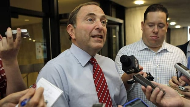 NHL Commissioner Gary Bettman is at the centre of an icy standoff with the players' union that hockey fans fear could lead to a lockout during what should be the 2012-13 season. The current collective bargaining agreement ends on Sept. 15 and a core issue is player salaries.