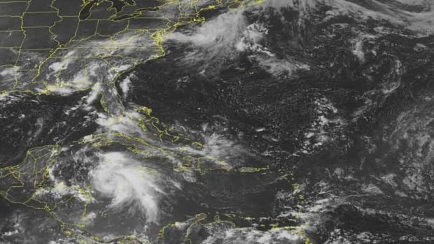 Tropical Storm Ernesto has strengthened into a hurricane Monday.