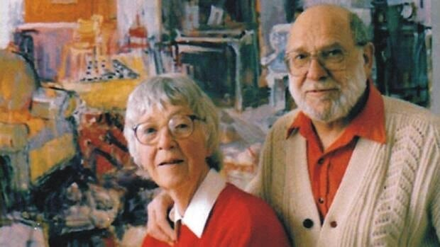 Bruno Bobak and his wife Molly Lamb both served as war artists during the Second World War.