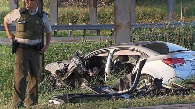 The 55-year-old driver was taken to hospital in critical condition but later died of his injuries.