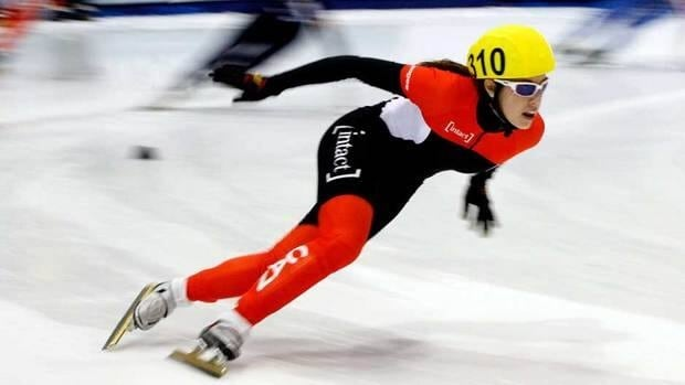 Valerie Maltais, shown in this 2011 file photo, finished with a time of one minute and 27.653 seconds for her 1,000m qualification heat on Friday in Calgary.