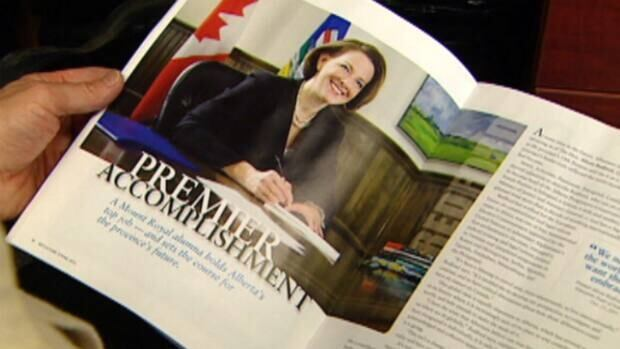 PC Leader Alison Redford was featured on the cover of latest issue of Reflections, Mount Royal University's alumni magazine.