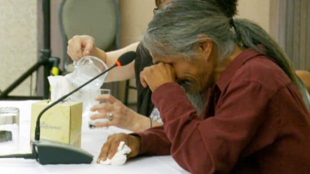 Often, these Truth and Reconciliation gatherings are the first time survivors tell their story, publicly or otherwise.
