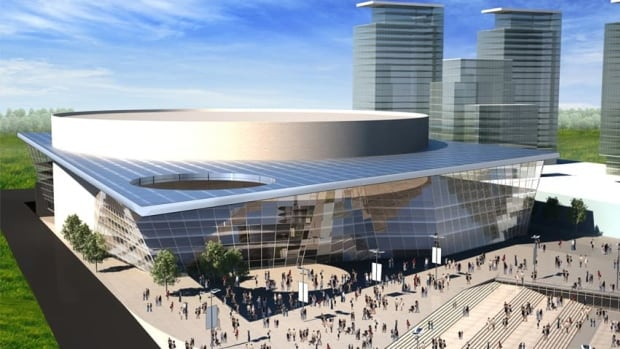 An artist's concept of the proposed Markham Sports, Entertainment and Cultural Centre