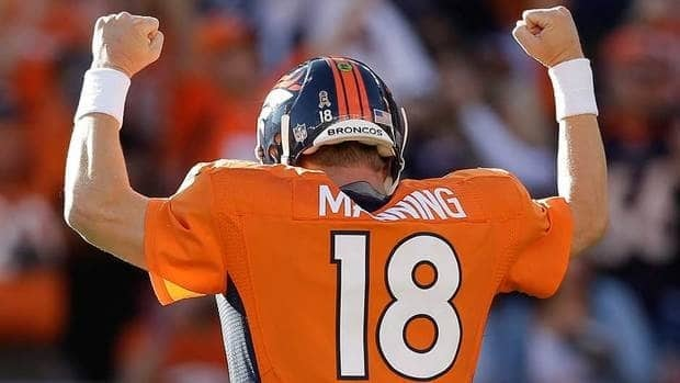 Denver Broncos quarterback Peyton Manning overcame four neck surgeries last year in a remarkable comeback.