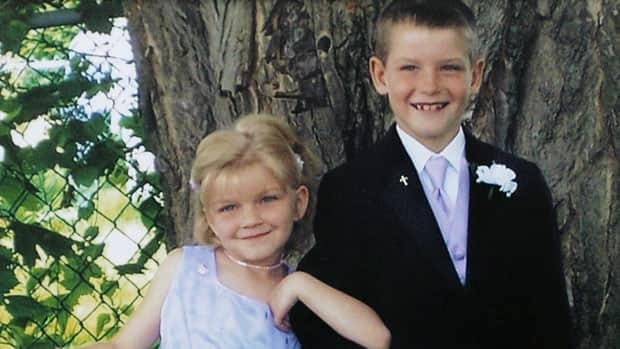 Victoria (Tori) Stafford, seen here in this undated family photo with brother Daryn, disappeared outside her school on April 8, 2009.