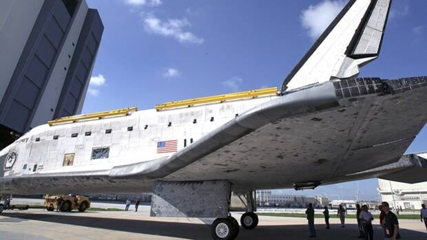 Space shuttle Discovery is scheduled to be moved to the Smithsonian National Air and Space Museum in Washington, D.C., in April.