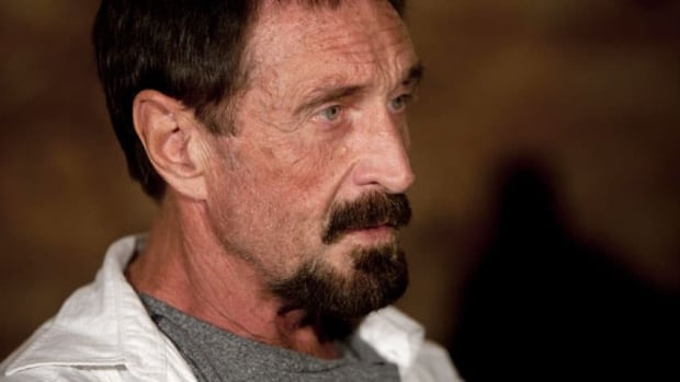 Guatemalan officials said they were expelling John McAfee because he entered the country illegally from neighbouring Belize.