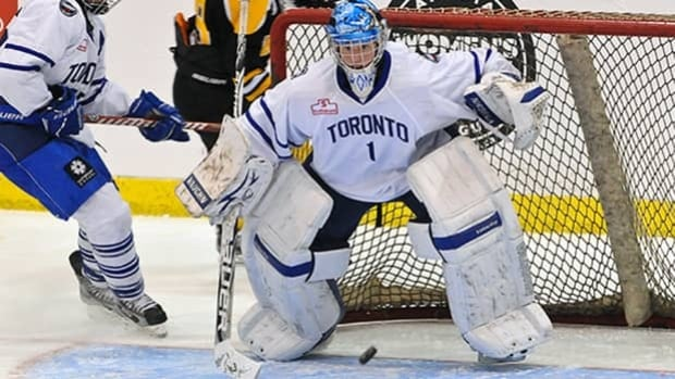 Toronto Furies goaltender Sami Jo Small is one of the players who could benefit from her team's partnership with the Maple Leafs.