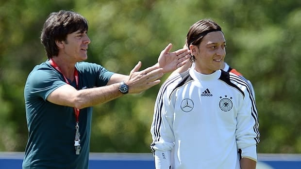 After a successful season with club side Real Madrid, Germany midfielder Mesut Oezil, right, will be expected to continue his good form at the Euro's.