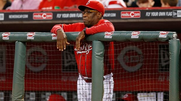 Dusty Baker skippered the Reds to a 90-72 mark and third place in the NL Central behind the Cardinals and Pirates this season.