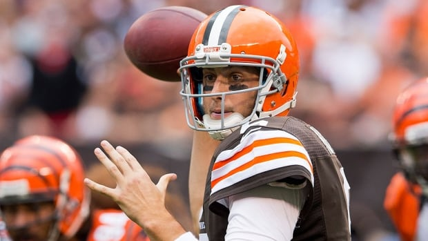 Browns quarterback Brian Hoyer, who waited five seasons for a chance to start, will miss the balance of the season with a torn knee ligament. He quickly