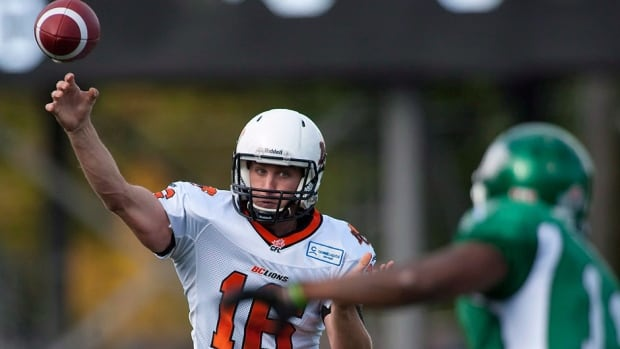 Lions quarterback Thomas DeMarco gets his first home start on Friday, facing the winless-in-four Roughriders. He has been efficient, if not spectacular, filling in for injured starter Travis Lulay, completing 39 of 65 passes for 435 yards and four touchdowns against zero interceptions.