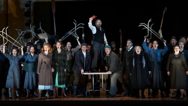 The Canadian Opera Company will present its 2013 production of Peter Grimes throughout the month. Tenor Ben Heppner is expected to return for subsequent performances.