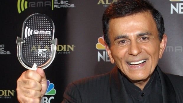The three older children of legendary U.S. radio host Casey Kasem, seen here at the 2003 Radio Music Awards in Las Vegas, have filed a petition for conservatorship over their ailing father.