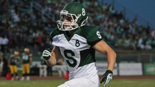 University of Saskatchewan Huskies' receiver Kit Hillis is eligible in the 2014 CFL Draft.