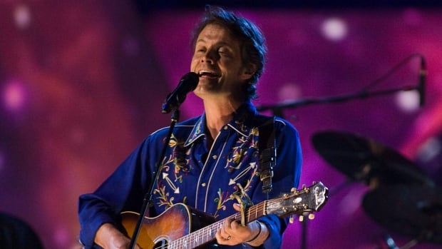 Jim Cuddy sings as Blue Rodeo performs at the Juno awards in St. John's, N.L. on Sunday, April 18, 2010.