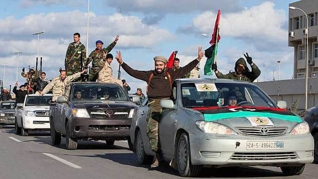 Libyan militias from towns throughout the country's west parade through Tripoli. This week, Libya will mark the one-year anniversary of the start of the uprising that led to the ouster and killing of Moammar Gadhafi last October.