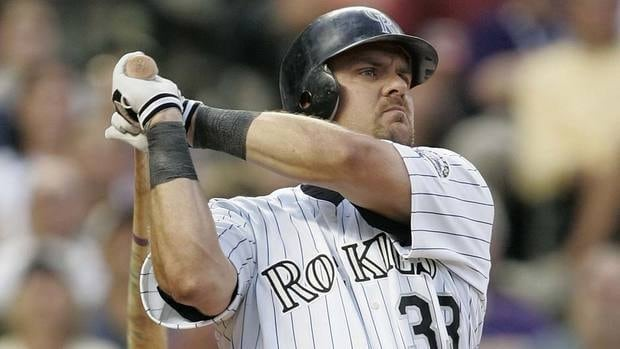 Three-time batting champion and 1997 NL MVP Larry Walker boasted a lifetime on-base-plus slugging percentage of .965, which is higher than 45 of the 64 outfielders currently in the Hall including Reggie Jackson and Dave Winfield.