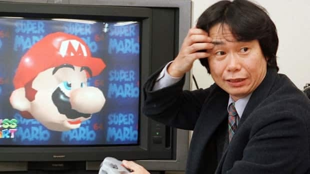 Shigeru Miyamoto, creator of Mario Bros. video game series, is shown in 1997. He has won the Asturias Award, Spain's annual award for contribution to culture.
