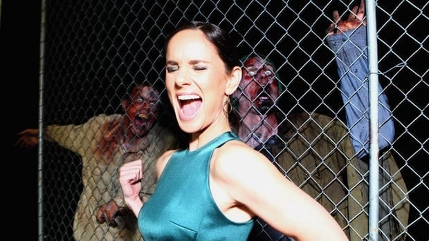 Actress Sarah Wayne Callies, seen attending a Walking Dead event in San Diego in July, said she was drawn playing the polarizing character Lori Grimes.
