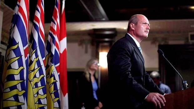 B.C.'s new Minister of Finance and House Leader Mike de Jong says the province will have to slash spending to make up for declines in natural gas revenue.