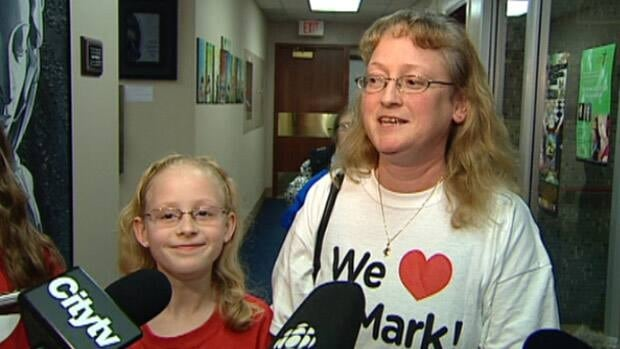 Laura Shewchuk was one of the parents who fought the closure of St. Mark School.