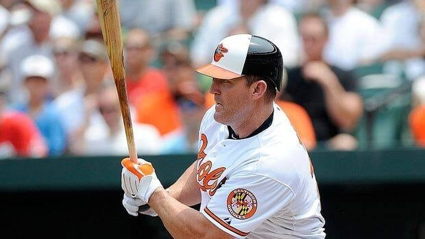 Veteran slugger Jim Thome went 0-for-4 with two strikeouts in his Orioles debut Sunday, a 6-2 loss to Cleveland.