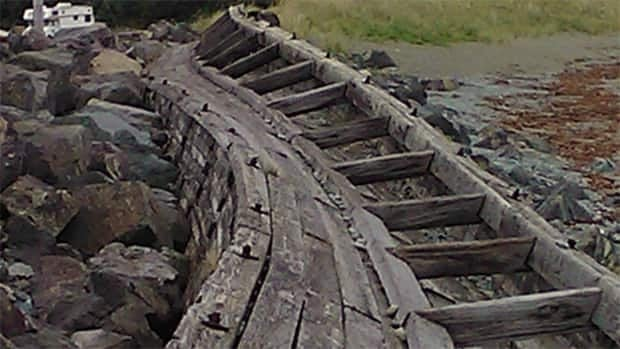 The Gabarus seawall was built in the 1940's then repaired in the 80s.
