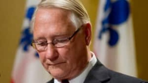 Gerald Tremblay announced his resignation as Montreal's mayor on November 5, 2012.
