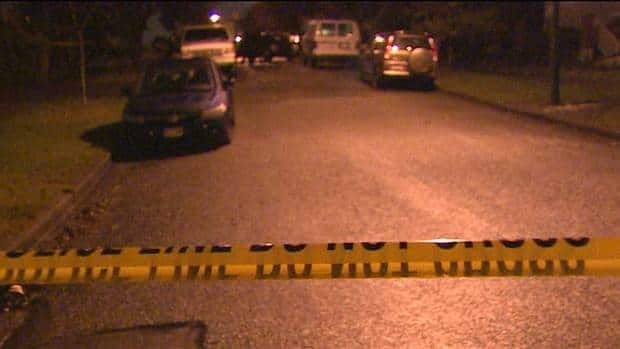 Police closed off several blocks of East 6th Avenue on Wednesday night after a man was shot dead in a home on the 3200-block.