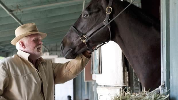 Actor Nick Nolte appears in a scene from the HBO original series Luck. HBO cancelled the show, which also stars Dustin Hoffman, after a third horse died during production.