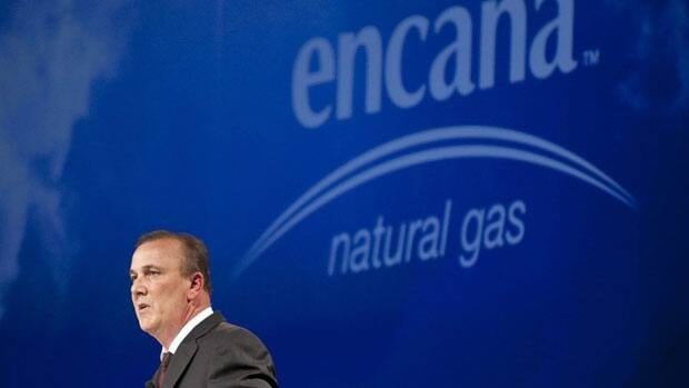 Randy Eresman, President & CEO of Encana. Canadian natural gas giant Encana Corp. is selling a 40% stake in its gas assets in northeastern B.C. to Mitsubishi for $2.9B.