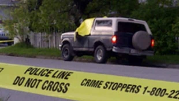 A man was discovered dead in a truck in Forest Lawn early Friday morning.