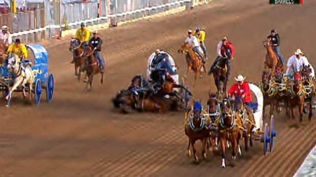 Are Chuckwagon Racing S Days Numbered Canada Cbc News