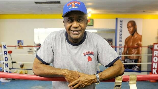 Emanuel Steward, shown here in 2006, also worked since 2001 as a boxing analyst for HBO.