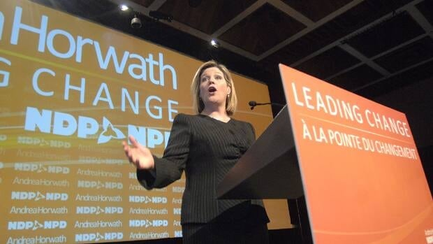 Ontario NDP Leader Andrea Horwath said Monday she is offering a path forward to resolve the budget showdown.