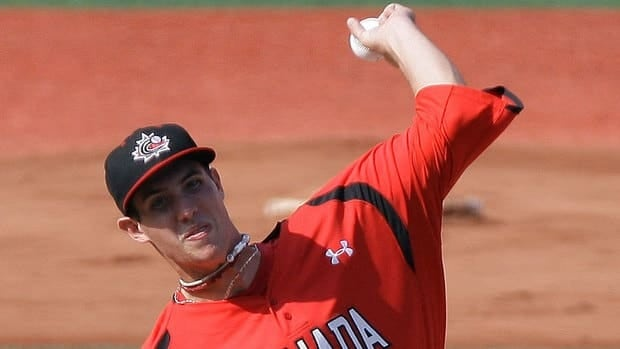 Canadian manager Greg Hamilton says he likes how his pitching, led by Ryan Kellogg (shown here), shapes up for Saturday's under-18 world final against the United States.