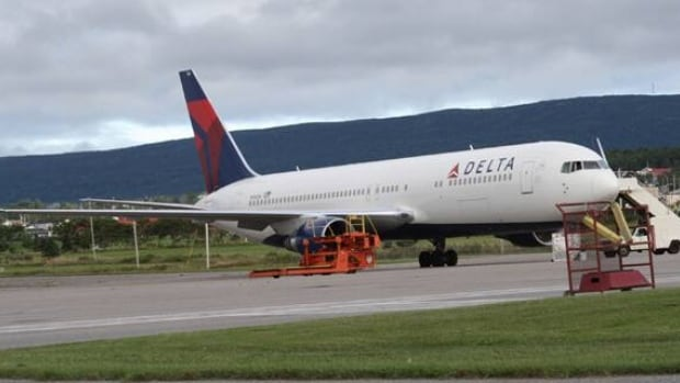 A Delta Air Lines from New York City to Istanbul made an emergency landing in Stepheville on Friday.