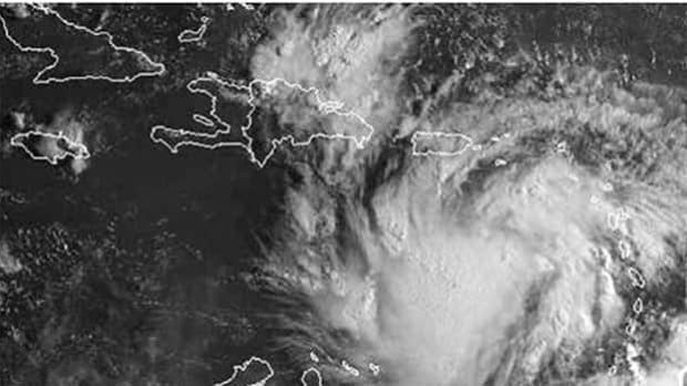 Tropical Storm Isaac is expected to grow into a hurricane over the Gulf of Mexico.