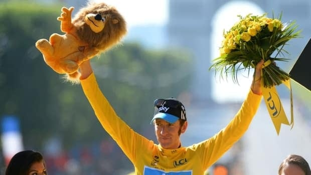 Bradley Wiggins, the 2012 Tour de France champion, has been hospitalized after being hit by a car while cycling in Northern England.