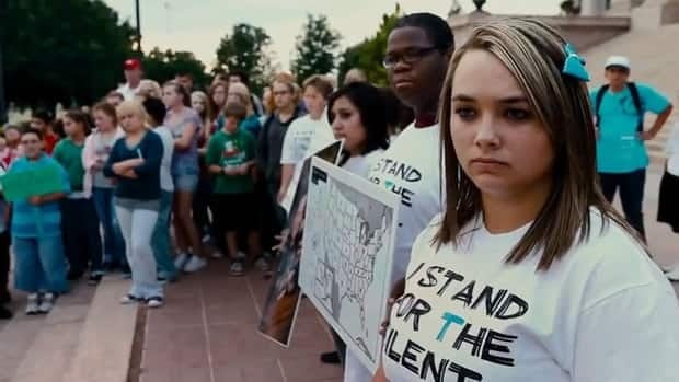 The documentary Bully examines the epidemic of bullying at U.S. schools and youth groups trying to combat it.