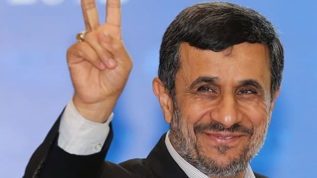 Iranian President Mahmoud Ahmadinejad said during a forum in Bali on Thursday that democracy has become a system where the minority rules over the majority, referring to the results of the U.S. presidential election Tuesday.
