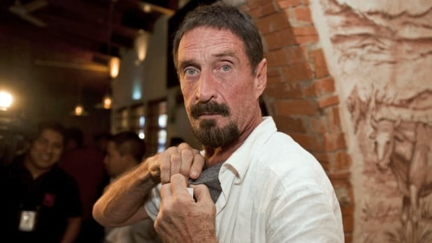 Software company founder John McAfee, 67, has been identified as a 'person of interest' in the killing of his neighbour in Belize. The anti-virus company founder is seeking political asylum in Guatemala.