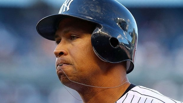 """Yankees' Alex Rodriguez is 1-for-9 in the ALDS with five strikeouts. """"I feel fine at the plate. ... I'm getting good swings."""""""