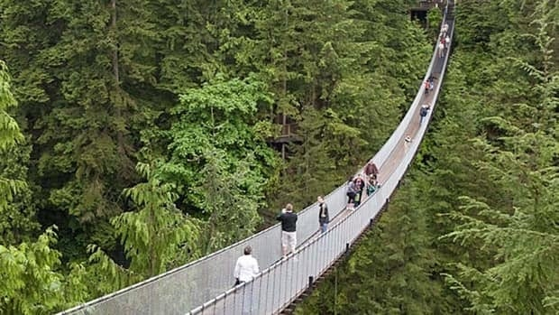 The Capilano Suspension Bridge is a perennial favourite stop for many tourists to B.C.'s Lower Mainland.