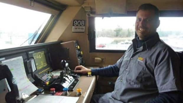 Patrick Robinson, 40, of Cornwall, Ont., was one of the three Via employees killed in Sunday's deadly derailment.