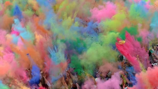 This Holi festival in Germany is something like what Gowland hopes to achive in Gage Park come August.