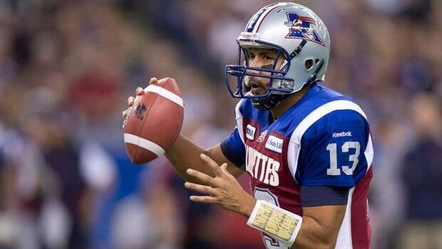 Anthony Calvillo threw for 31 touchdowns last season and reached 5,000 passing yards for the seventh time.
